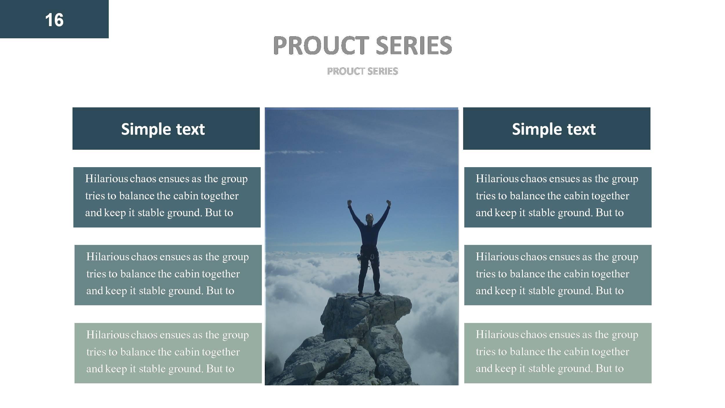 Company profile powerpoint presentation template ciloart.