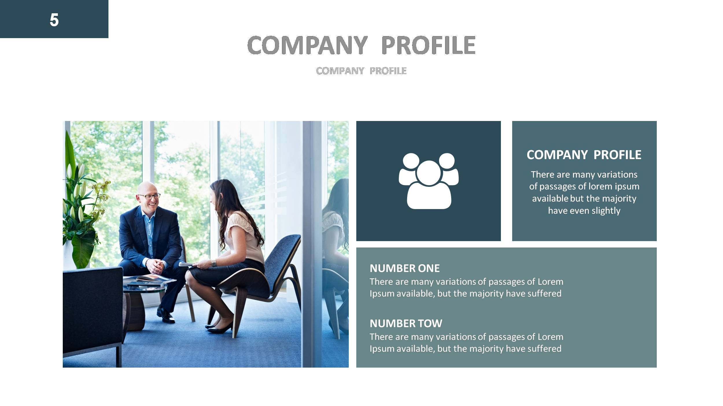 Company profile powerpoint presentation template by gardeniadesign company profile powerpoint presentation template toneelgroepblik Image collections