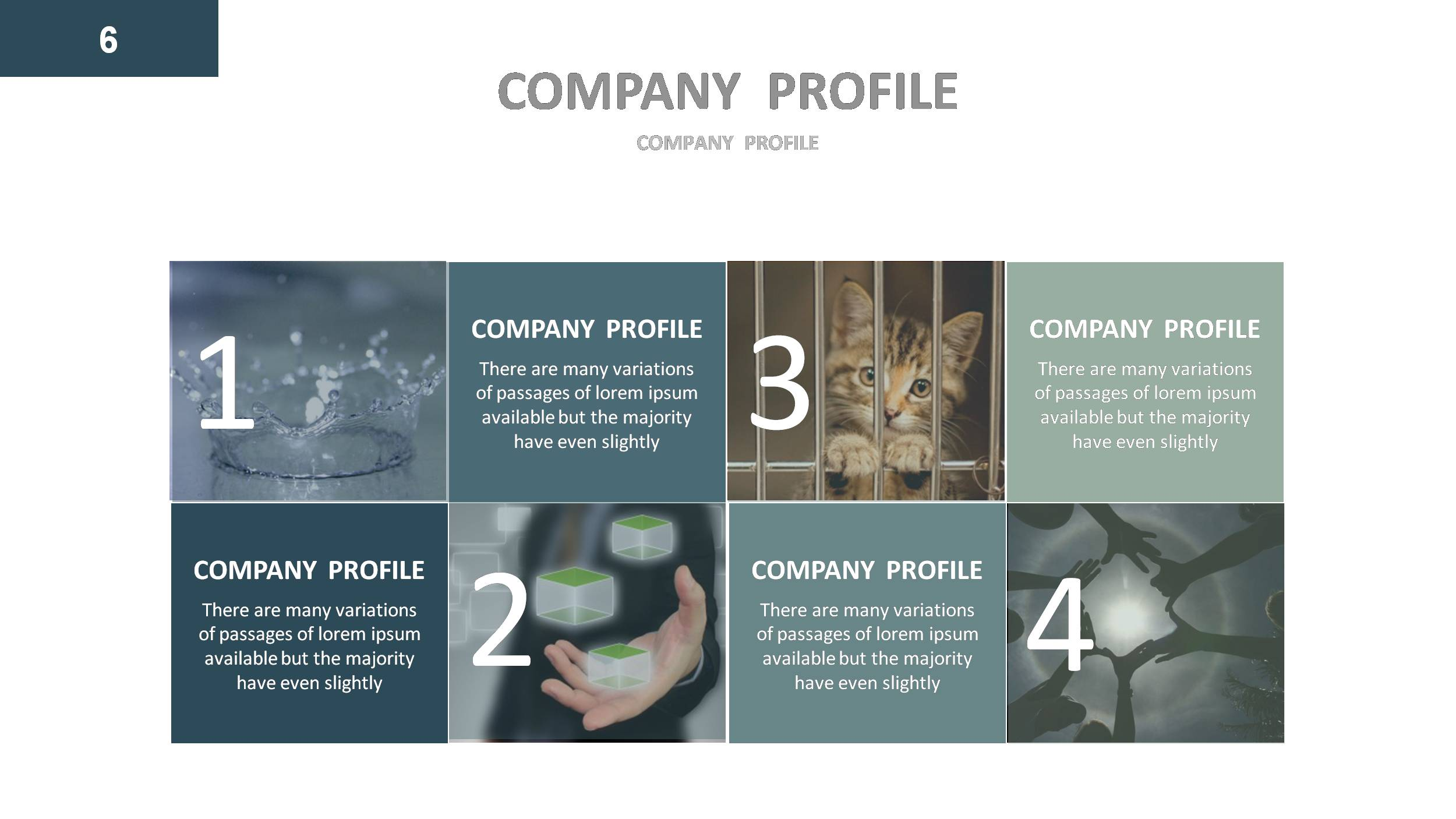 company profile after effects templates free download - company profile powerpoint presentation template by