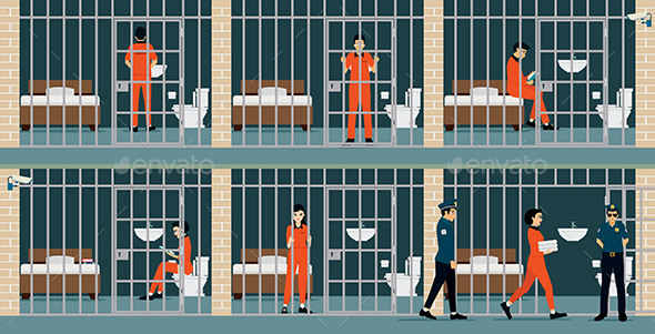 Prison Inmates - Buildings Objects