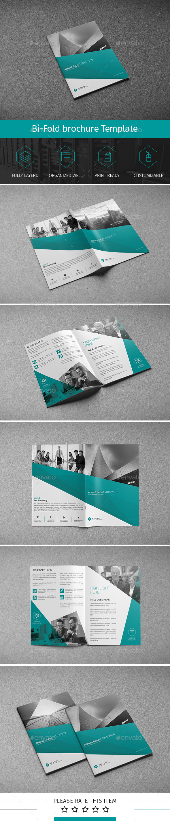 Corporate Bi-fold Brochure-Multipurpose 03 - Corporate Brochures