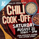 Chili Cook-off Flyer Template - GraphicRiver Item for Sale