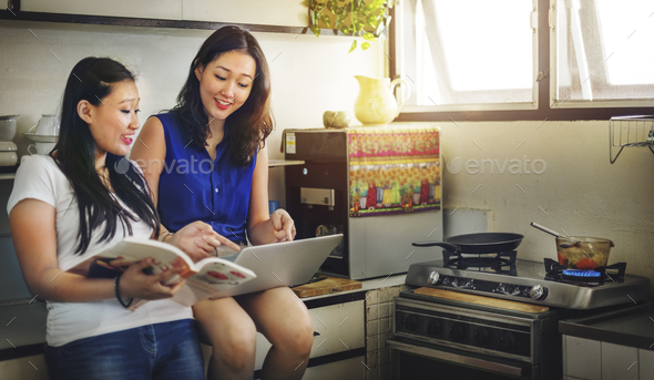 Sister Friendship Embracing Adorable Outside Concept - Stock Photo - Images