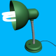 Green Floor Lamp - 3DOcean Item for Sale