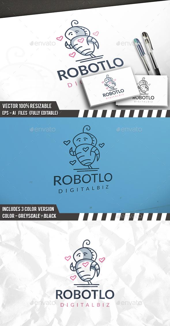Love Robot Logo - Humans Logo Templates