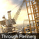 Flight Through Refinery - VideoHive Item for Sale