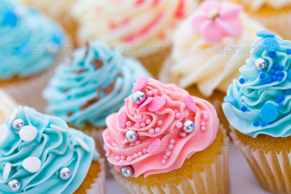 Cupcake assortment - Stock Photo - Images