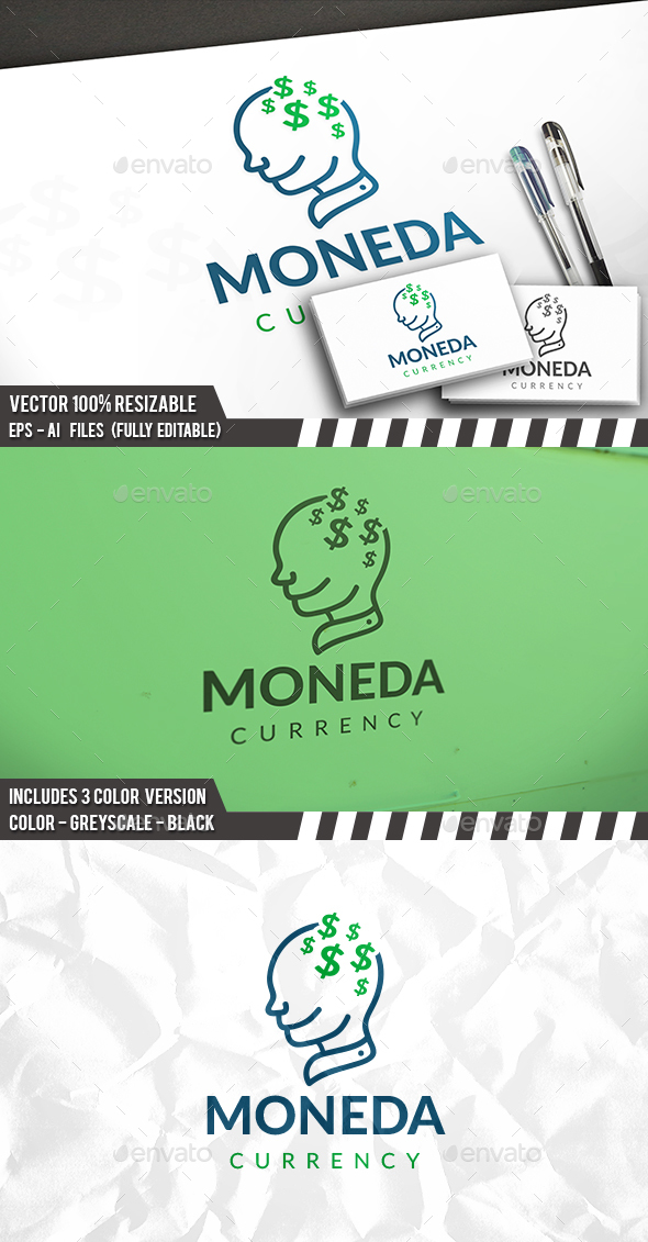 Money Idea Logo - Humans Logo Templates