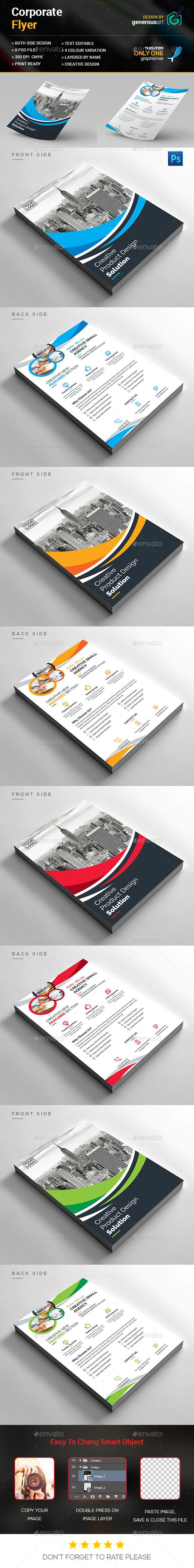Creative Corporate Flyer - Corporate Flyers