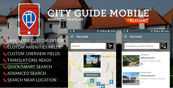 City Guide Android App - CodeCanyon Item for Sale