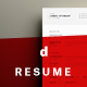 A4 Minimalist Resume - GraphicRiver Item for Sale