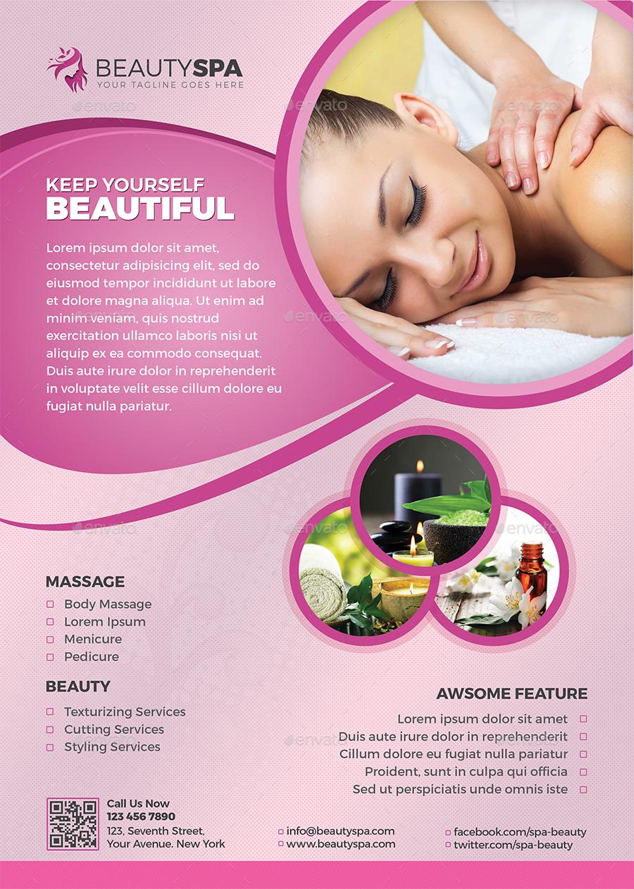 Spa Flyer / Beauty Flyer