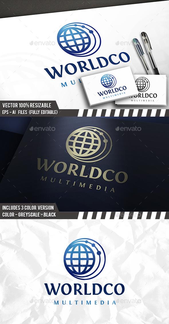 Globe Connect Logo - Symbols Logo Templates