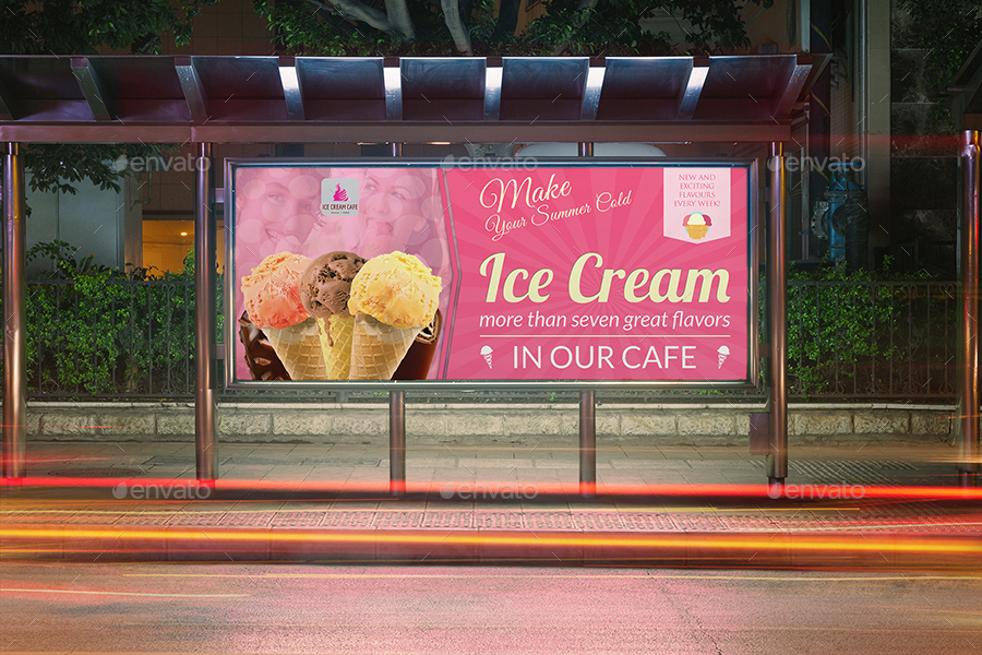 ice cream advertising bundle vol 3 by owpictures