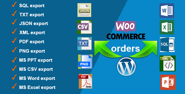 Orders Export for WooCommerce - CodeCanyon Item for Sale