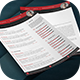 The Resume And Cover Letter  - GraphicRiver Item for Sale