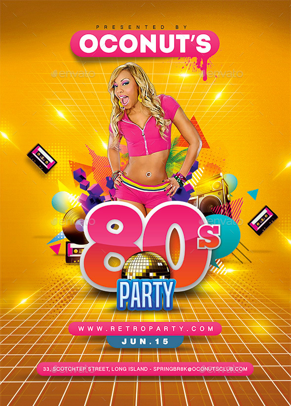80's Party - Clubs & Parties Events