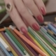 Female Hand Takes a Pencil - VideoHive Item for Sale