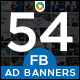 Facebook Ad Banners - 27 Designs - GraphicRiver Item for Sale