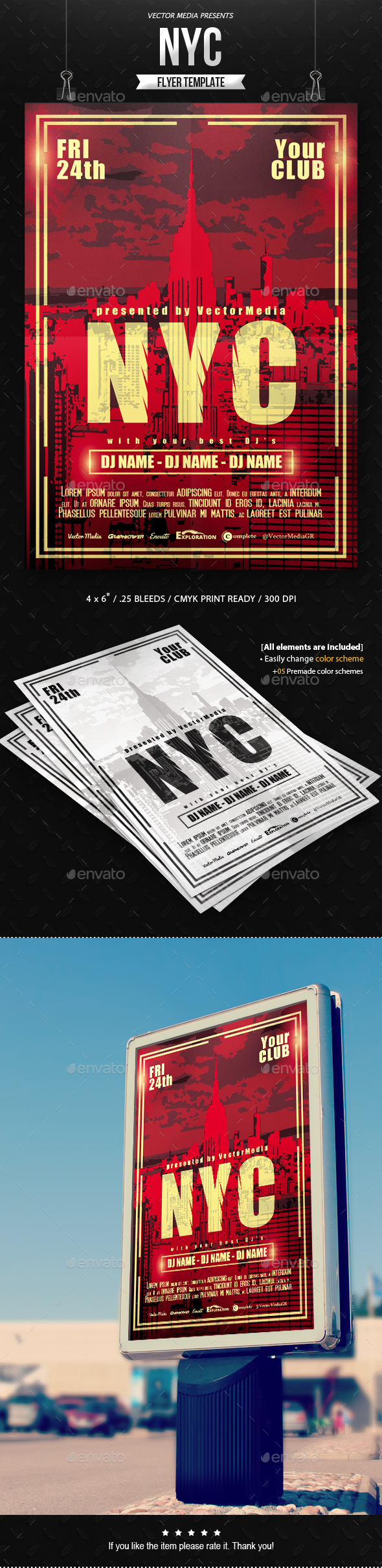 NYC - Flyer - Clubs & Parties Events