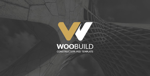 WOOBUILD l Construction PSD Template - Creative PSD Templates