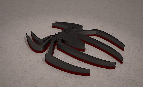 Spider Man Icon 3D - 3DOcean Item for Sale