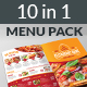 Restaurant Food Menu Pack - GraphicRiver Item for Sale