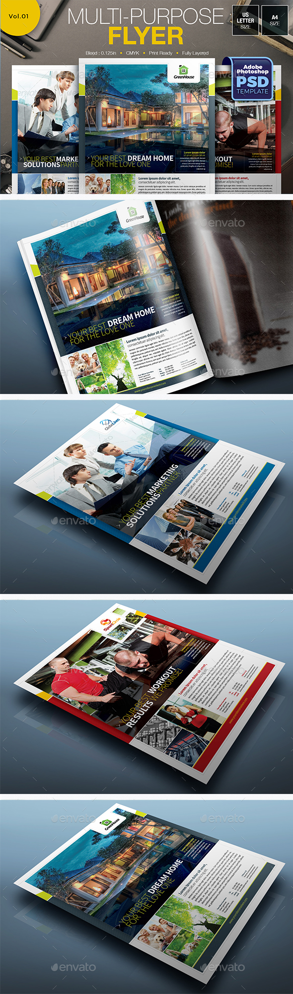 Multipurpose Flyer Vol.01 - Miscellaneous Events