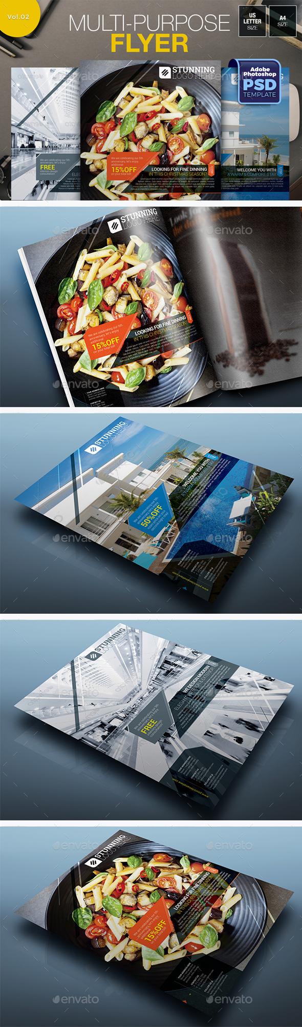 Multipurpose Flyer Vol.02 - Miscellaneous Events