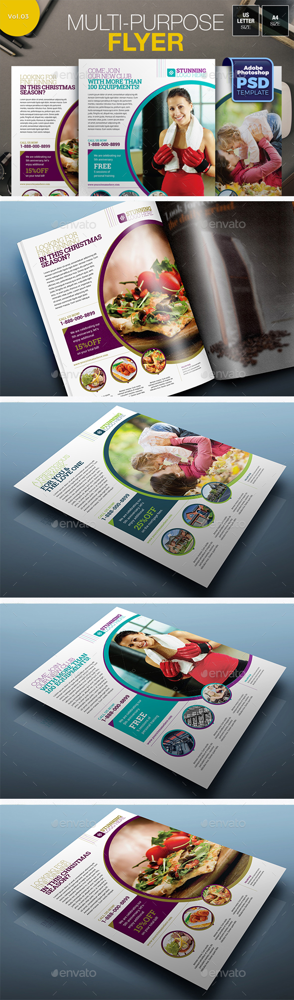Multipurpose Flyer Vol.03 - Miscellaneous Events