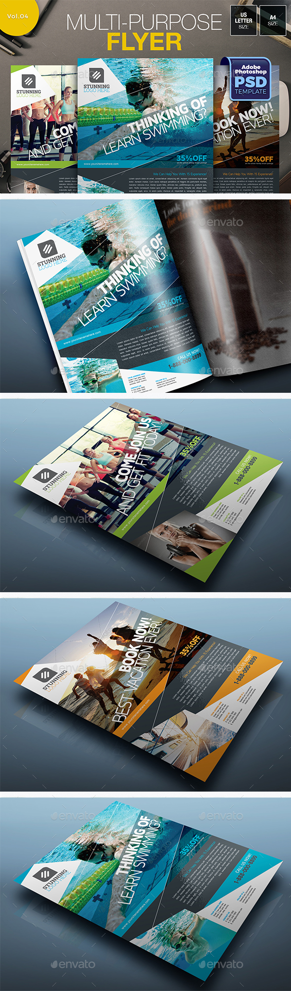 Multipurpose Flyer Vol.04 - Miscellaneous Events