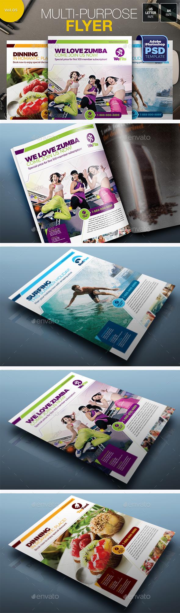 Multipurpose Flyer Vol.05 - Miscellaneous Events