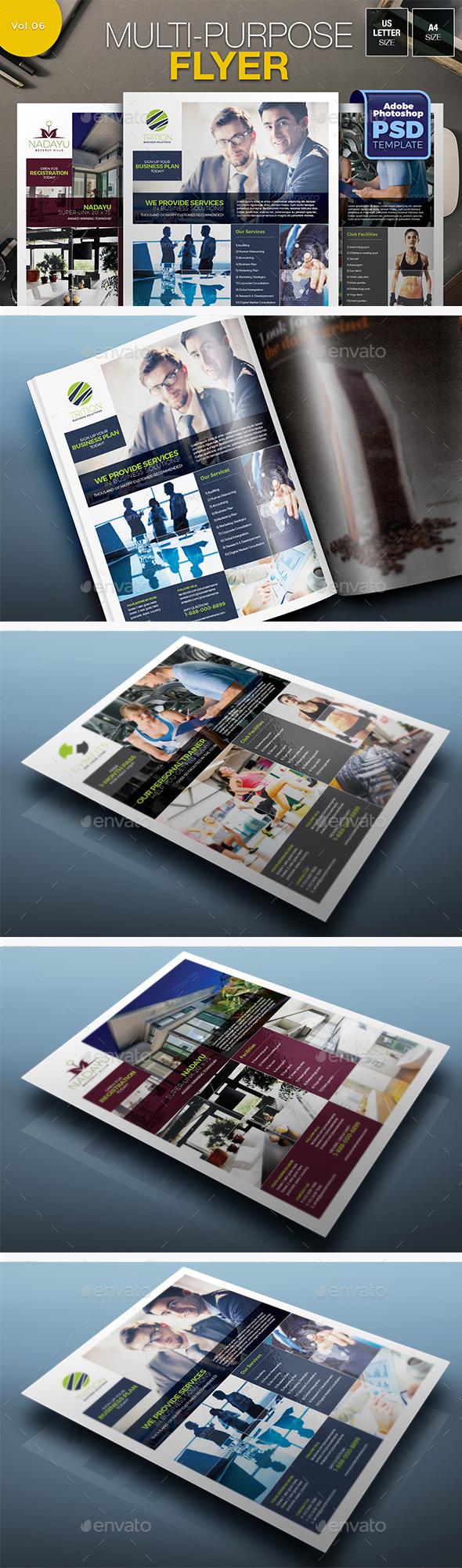 Multipurpose Flyer Vol.06 - Miscellaneous Events