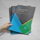 Material Design Brochure Template