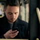Man In Bus Using His Cell Phone - VideoHive Item for Sale
