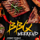 BBQ Weekend Flyer