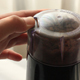 Hand Turns On The Electric Coffee Grinder - VideoHive Item for Sale