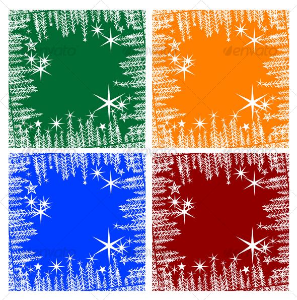 Christmas background - Backgrounds Decorative