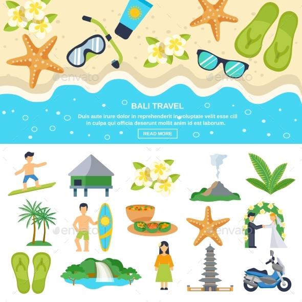 Concept Bali Travel - Travel Conceptual