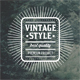 Authentic Vintage Badges & Labels - GraphicRiver Item for Sale