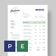 Clean Invoice Template - GraphicRiver Item for Sale