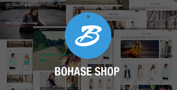 Bohase Fashion Store – Responsive Magento Theme