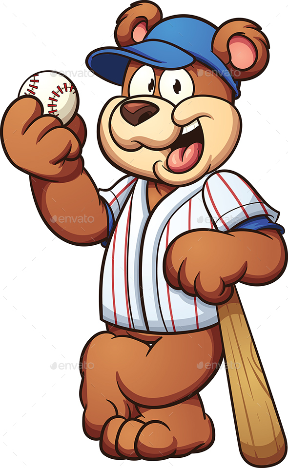 Baseball Bear - Animals Characters