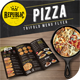 Trifold Pizza Menu - GraphicRiver Item for Sale