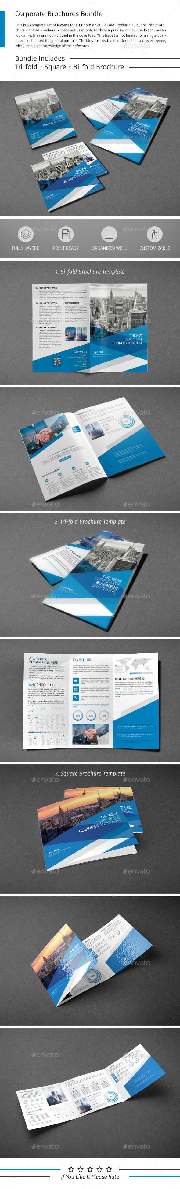 Brochure Bundle 09 - Corporate Brochures
