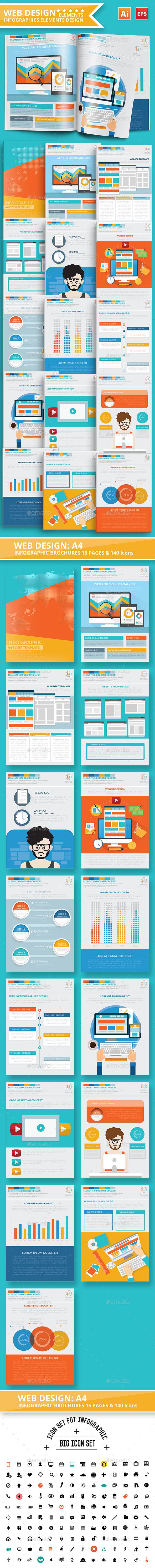 Web design infographic Design - Infographics