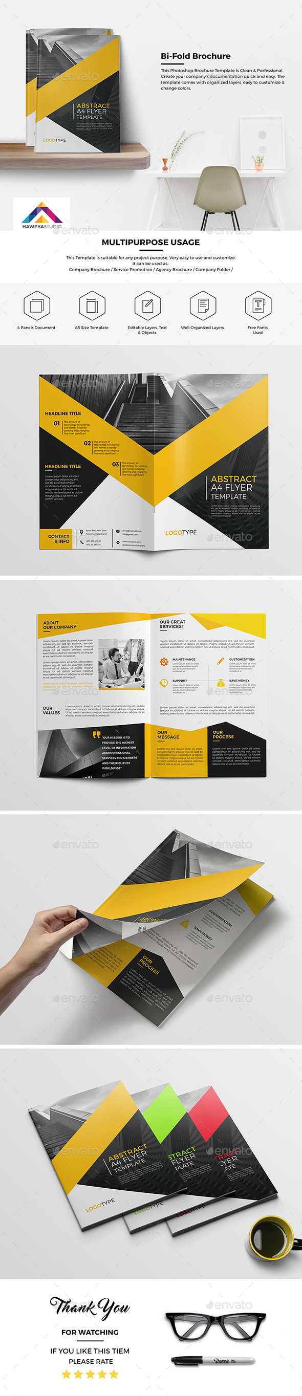 Haweya Bi-Fold Brochure 04  - Corporate Brochures