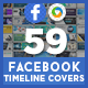 Mega Facebook Timeline Covers Bundle - 59 Designs  - GraphicRiver Item for Sale