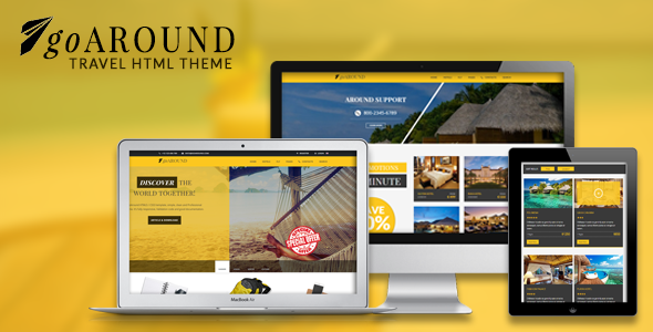 goAround - Travel Theme Responsive - Travel Retail