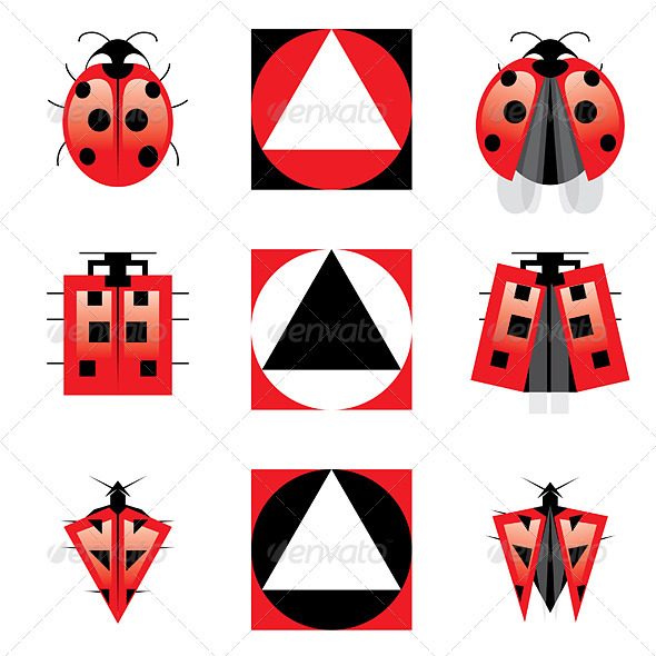 Conceptual Evolution of Ladybug - Animals Characters